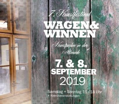 Wagen und Winnen – Kunstperlen in der Altmark 2019