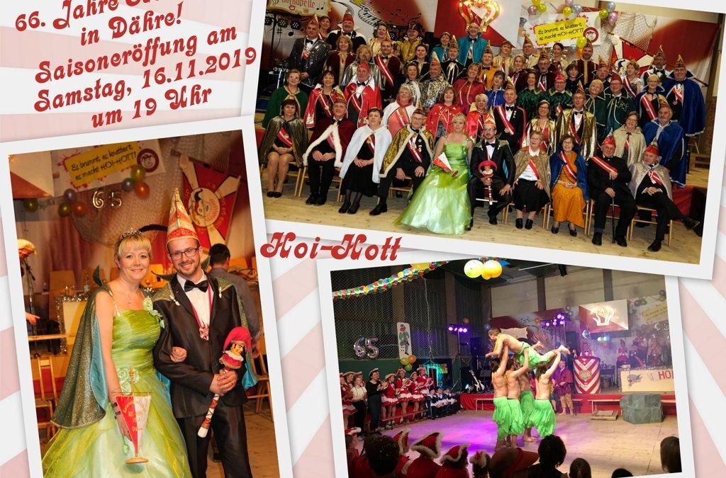 Auf in die 66. Karnevalssaison im Narrenstaat Dähre!