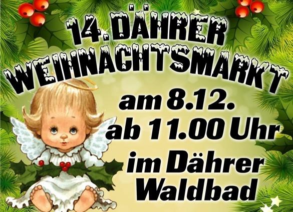 Weihnachtsmarkt im Waldbad Dähre